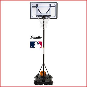 een junior basketbalstandaard van Franklin
