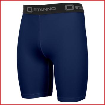 een comfortabele stretch short van Stanno