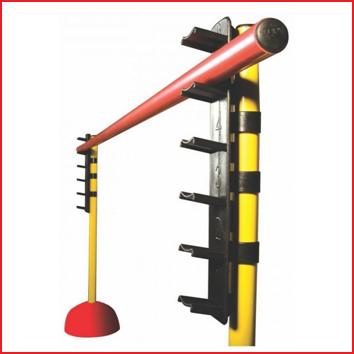 hoogteregelaars voor op kunststof gymstokken