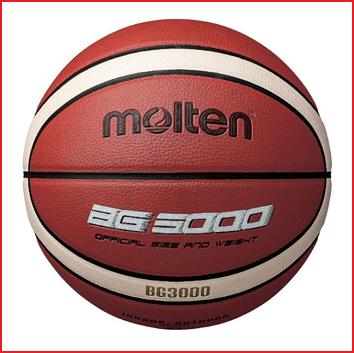 de Molten B6G3000 is een basketbal voor kinderen vanaf 12 jaar