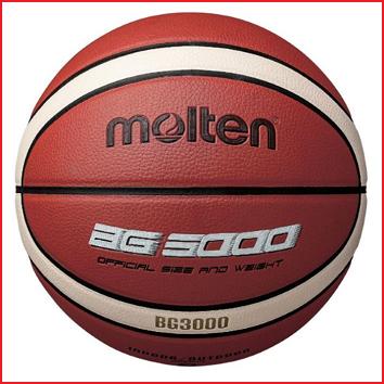 de Molten B7G3000 is een basketbal met een 12-panel dsign