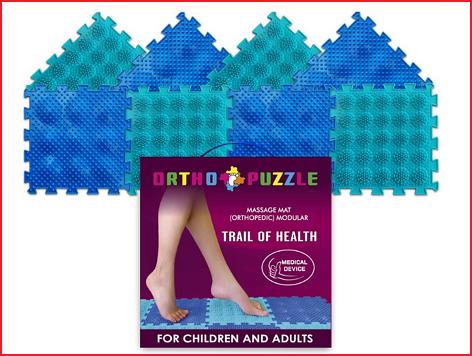 ortho puzzel gezondheidspad voor kinderen en volwassenen