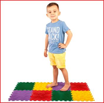 ortho puzzel voor een goede vorming van de voeten