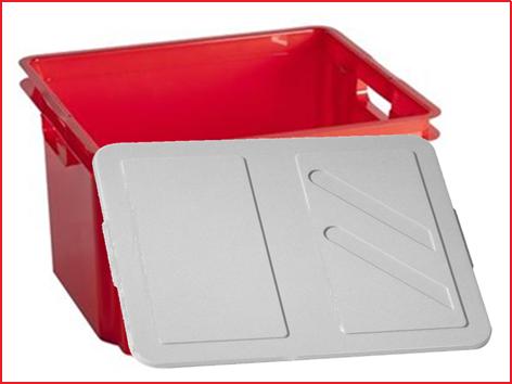 inclusief stevige opbergbox met deksel
