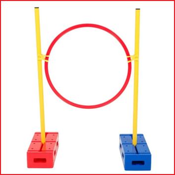 gymnastiekstokken 80 cm combineerbaar met onze multifunctionele blokken