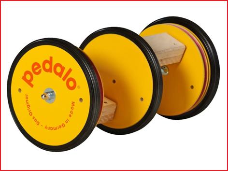 de Pedalo slalom is de enigste Pedalo waarmee je kan slalommen