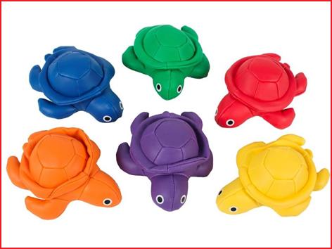 pittenzakjes schildpad geleverd in een kleurenassortiment