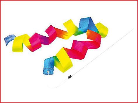 set van 3 regenboog linten ter bevordering van de oog- en handcoördinatie