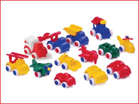 voertuigen mix Viking Toys bestaande uit verschillende modellen