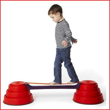 verhoog de moeilijkheidsgraad van je balanceerparcours met de slackline van Gonge