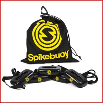 met de Spikebouy kan je ook Spikeball in het water spelen