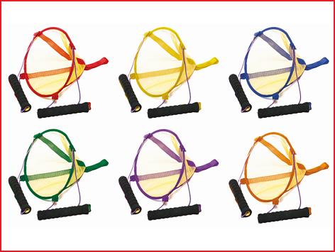 de lanceerbasket is uitgevoerd in verschillende kleuren