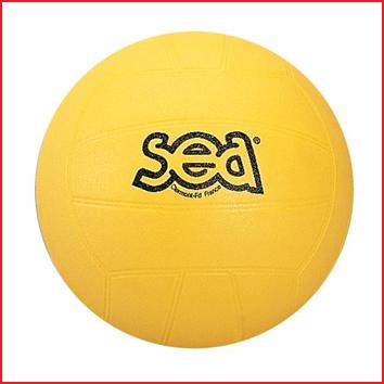 een duurzame speelbal volley geschikt voor tal van balspelletjes
