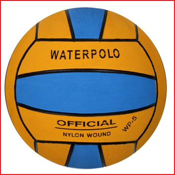 duurzame waterpolobal met een uitstekende grip