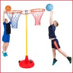 zij aan zij gemonteerde basketbalringen combineerbaar met ons Big Red systeem