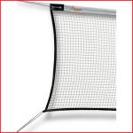 badmintonnet in geknoopt polyamide met een polyester spanlijn