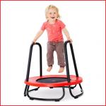 een veilige en praktische baby trampoline Gonge voor kleine kinderen
