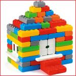 met deze bouwblokkenset maak je de mooiste huisjes