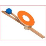 een handbalspel van Pedalo ter bevordering van de coördinatie en de reactiesnelheid