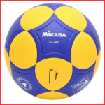 de Mikasa K4-IKF is een IKF goedgekeurde korfbal in de maat 4 voor indoor gebruik