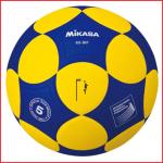 de Mikasa K5-IKF is een kunstleren korfbal met uitstekende grip