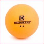 oranje tafeltennisballen 2 ster van Heemskerk