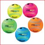 een zachtere rubberen honkbal van Franklin