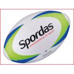 een cellulair rubberen rugbybal met een uitstekende grip