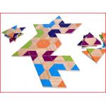 triangel domino is een leuke variant op het klassieke dominospel