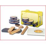 de balans box van Pedalo bevat 9 coördinatietoestellen met een verschillende moelijkheidsgraad