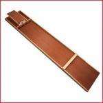 een sjoelbak van 200 cm inclusief 30 houten sjoelschijven huren