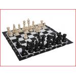 schaakspel bestaande uit 32 grote kunststof schaakstukken huren
