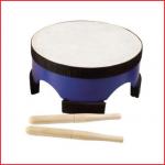 een houten staande trommel met een diameter van 20 cm