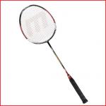 de badmintonracket gold is geschikt voor intensief gebruik