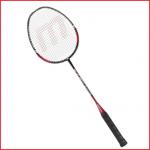 lichtgewicht badmintonracket Silver voor de gemiddelde badmintonspeler