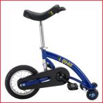een balanceerfiets geschikt voor kinderen van 6 tot 12 jaar