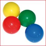 ballen voor ballenbad geleverd in 4 kleuren