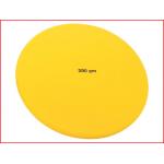 een soft discus atletiek van 200 gram voor de jongste discuswerpers