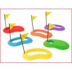 golfdoelen set bestaande uit 6 gekleurde holes