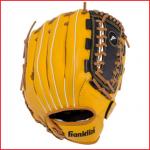 een honkbalhandschoen van Franklin voor kinderen van 14 tot 16 jaar