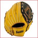 speelklare honkbalhandschoen Franklin met een goede pasvorm