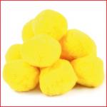 set van 12 zachte katoenballen met een diameter van 9 cm