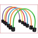 set van 6 kruippoorten in verschillende kleuren