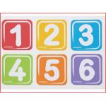 magneetborden cijfers geschikt voor edusante loopfietsen en driewielers