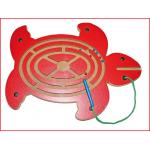 magneetspel schildpad met 1 magneetstift en 6 kogeltjes