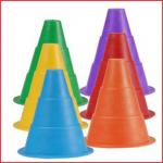 markeringskegel rubber verkrijgbaar in 6 verschillende kleuren