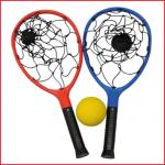 net racket is een leuk werp- en vangspel