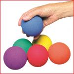 set van 6 niet botsende ballen voor allerhande balspelen