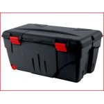 een stevige opbergbox van 110 liter