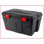 gebruiksvriendelijke opbergbox met een inhoud van 85 liter